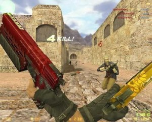 counter strike. 5 pc game