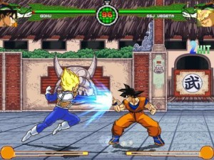 Dragon Ball Z Sparking Mugen PC with cheats