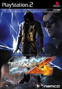 Tekken 4 PS2 cover image