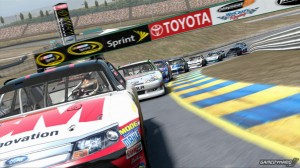 NASCAR The Game Inside Line pS3 game