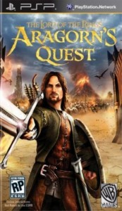 The Lord of the Rings Aragorn's Quest PSP