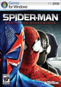 Spider-Man Shattered Dimensions game