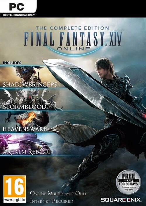 Final Fantasy 14 download pc