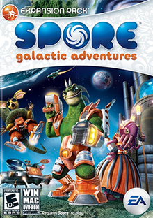 Spore Galactic Adventures Coverart free download for Pc