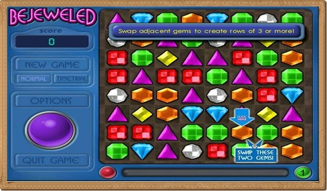 bejeweled free download Games
